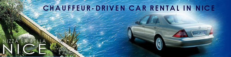 Chauffeur-Driven Car Rental in Nice
