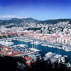 Chauffeur-driven car rental in Nice, visit the Old-Port and the surrounding hills
