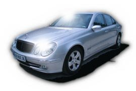 Mercedes Class E, chauffeur-driven car rental in Nice, Cannes, and Monaco